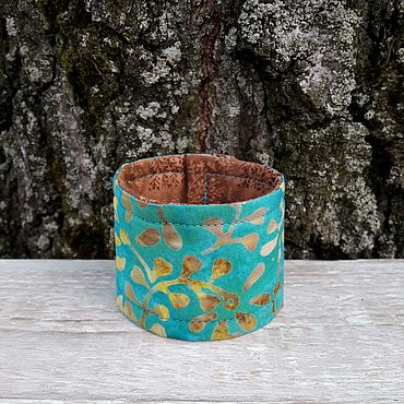 Decorations handmade. Livemaster - original item Textile bracelet