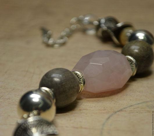 браслет дерево граб, браслет перламутр, браслет розовый кварц, розовый кварц браслет украшение, деревянное украшение, деревянный браслет, украшение на заказ, украшение москва
