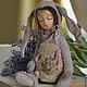 Мишки Тедди ручной работы. provance. евгения (evgehiya). Ярмарка Мастеров. Интерьерная игрушка, древесные опилки, холлофайбер