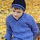 Кофты и свитера ручной работы. Мастер-класс (файл PDF)Вязанный спицами детский пуловер с V-образным в. Мастер по вязанию Светлана. Интернет-магазин Ярмарка Мастеров.