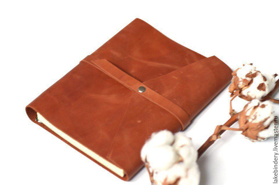 Notebooks handmade. Livemaster - handmade. Buy Leather notebook rings made  from natural Italian leather ... a299088e48
