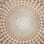 Для дома и интерьера ручной работы. Ярмарка Мастеров - ручная работа Ажурная круглая салфетка. Handmade.