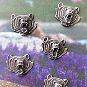 Сувениры и подарки handmade. Livemaster - original item magnet Bear. A magnet on the fridge. Souvenir. Gift.. Handmade.