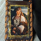 Сумки и аксессуары handmade. Livemaster - original item Cardholders Hunter. Handmade.