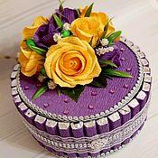 Сувениры и подарки handmade. Livemaster - original item Cake box Sweet dessert. Handmade.