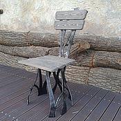 """Для дома и интерьера ручной работы. Ярмарка Мастеров - ручная работа Стул кованый """"Лесной житель"""")). Handmade."""