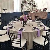 Свадебный салон ручной работы. Ярмарка Мастеров - ручная работа Скатерть и салфетки свадебные. Handmade.