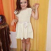 Работы для детей, ручной работы. Ярмарка Мастеров - ручная работа Платье в винтажном стиле для девочки. Handmade.