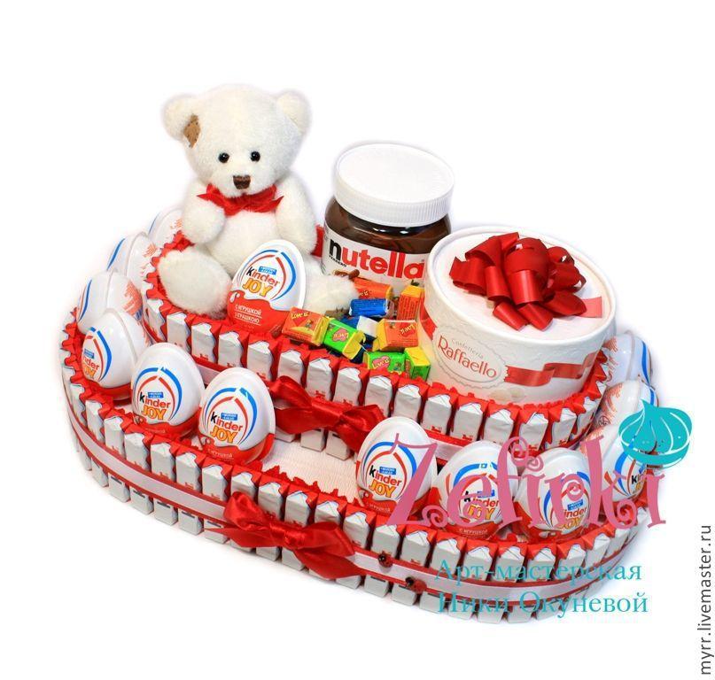 Подарки в торт сюрприз 3
