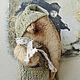 Мишки Тедди ручной работы. СЛОНОПОТАМ. Olga Krasnova. Ярмарка Мастеров. Тедди, вискоза, слоник тедди, шплинты