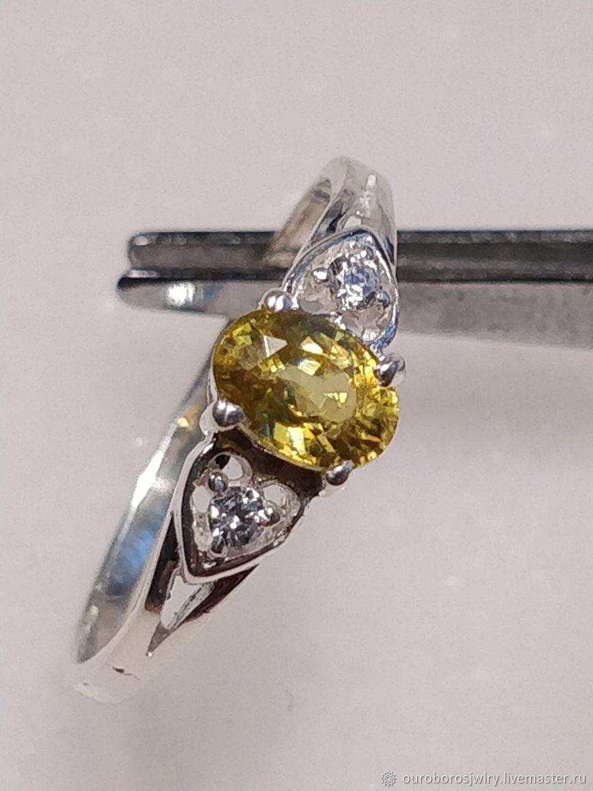 Silver ring sphen (titanite), Rings, Novosibirsk,  Фото №1