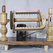 Инструменты для вязания ручной работы. Ярмарка Мастеров - ручная работа Прялка электрическая для прядения пуха и шерсти. Handmade.