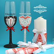 Свадебный салон handmade. Livemaster - original item Bridal set for