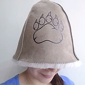 Дача и сад handmade. Livemaster - original item NEW bath Hat (painted on 2 sides). Handmade.