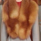 """Одежда ручной работы. Ярмарка Мастеров - ручная работа Пальто зимнее с воротником из лисы """" ICE & FIRE  """". Handmade."""