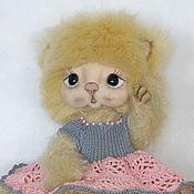 Куклы и игрушки handmade. Livemaster - original item Teddy kitty Paula.. Handmade.