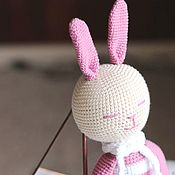 Куклы и игрушки handmade. Livemaster - original item The lady in the pink dress. Handmade.
