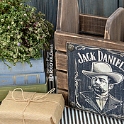 """Для дома и интерьера ручной работы. Ярмарка Мастеров - ручная работа Винный короб """"Tennessee"""". Handmade."""