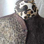 "Одежда ручной работы. Ярмарка Мастеров - ручная работа Валяный жакет ""Сафари"". Handmade."