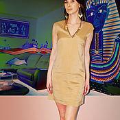 Одежда handmade. Livemaster - original item silk short dress