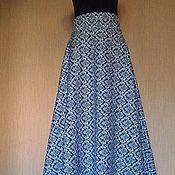 Одежда handmade. Livemaster - original item Jean skirt