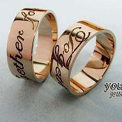 Обручальные кольца ручной работы. Ярмарка Мастеров - ручная работа Обручальные кольца. Handmade.