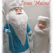 Куклы и игрушки ручной работы. Ярмарка Мастеров - ручная работа Дед Мороз Ватный Продан. Handmade.