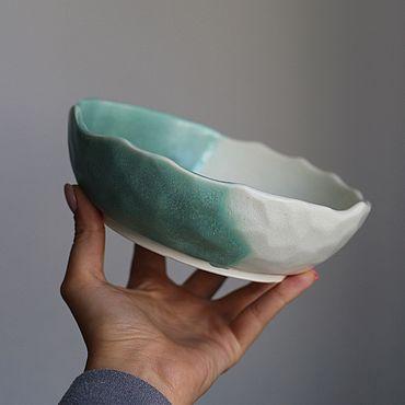 Посуда ручной работы. Ярмарка Мастеров - ручная работа Керамическая миска ( пиала ). Handmade.