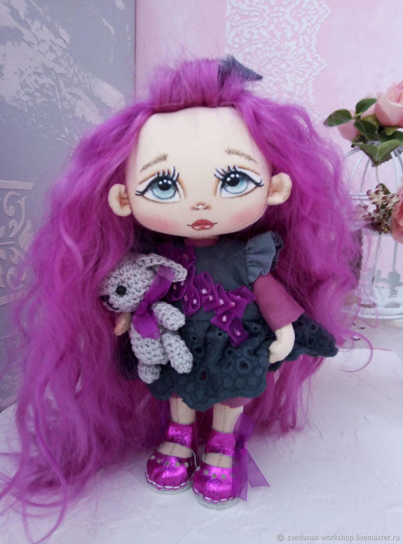 Текстильная кукла, Портретная кукла, Санкт-Петербург,  Фото №1