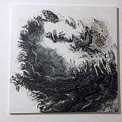 Картина-абстракция (Fluid art) N5