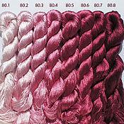 Материалы для творчества ручной работы. Ярмарка Мастеров - ручная работа Шелковые нитки для вышивки. Handmade.