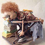 Куклы и игрушки ручной работы. Ярмарка Мастеров - ручная работа А как прошел твой выходной?. Handmade.