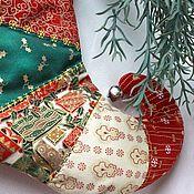 Елочные игрушки ручной работы. Ярмарка Мастеров - ручная работа Сапожок Эльфийский, Рождественский, Новогодний. Handmade.