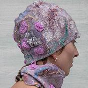 Аксессуары handmade. Livemaster - original item Hat and scarf