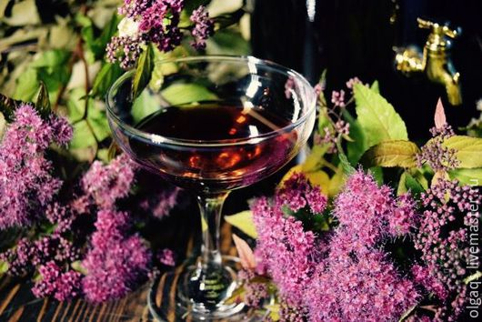 Шампунь ручной работы. Ярмарка Мастеров - ручная работа. Купить Уксус винный для волос, 250 мл. Handmade. Бордовый