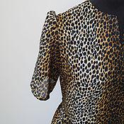 Одежда ручной работы. Ярмарка Мастеров - ручная работа Платье длинное, ЛЕО, батист. Открывайте фото полностью.. Handmade.