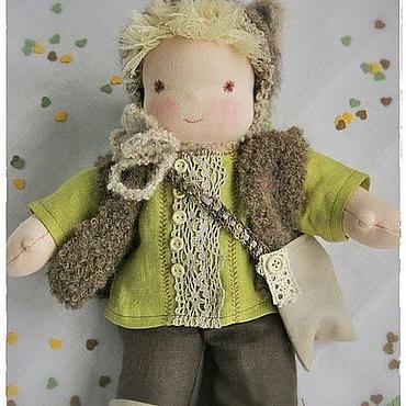 Куклы и игрушки ручной работы. Ярмарка Мастеров - ручная работа Кукла Глеб. Handmade.