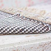 Для дома и интерьера ручной работы. Ярмарка Мастеров - ручная работа Коврик для дома тканный 010. Handmade.