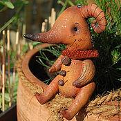 Куклы и игрушки ручной работы. Ярмарка Мастеров - ручная работа Существо Рогуш. Handmade.