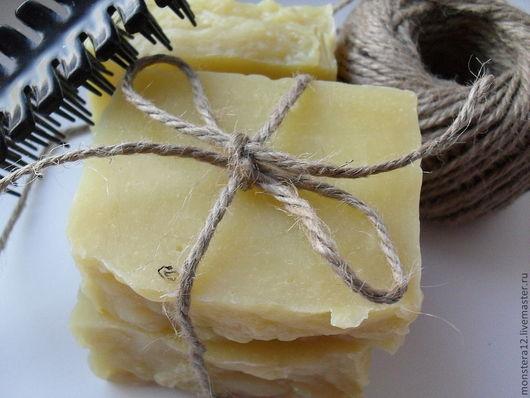 """Мыло-шампунь ручной работы. Ярмарка Мастеров - ручная работа. Купить Натуральное шампуниевое мыло""""Крапива и Макадамия"""". Handmade. Натуральное мыло"""