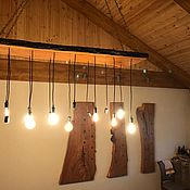 Для дома и интерьера handmade. Livemaster - original item The lamp of the slab. Handmade.