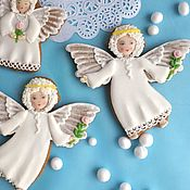 Сувениры и подарки handmade. Livemaster - original item Gingerbread angel .Easter carrot.Gingerbread for Christmas. Handmade.