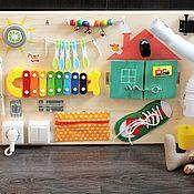 Куклы и игрушки ручной работы. Ярмарка Мастеров - ручная работа Бизиборд №2. Handmade.