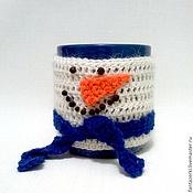 Подарки к праздникам ручной работы. Ярмарка Мастеров - ручная работа Снеговик-морковный нос. Handmade.