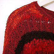 """Одежда ручной работы. Ярмарка Мастеров - ручная работа Джемпер """"Огонь костра"""". Handmade."""
