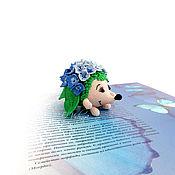 Куклы и игрушки handmade. Livemaster - original item Hortense - mother hedgehog! Collection