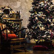 Подарки к праздникам ручной работы. Ярмарка Мастеров - ручная работа Новогоднее оформление. Handmade.