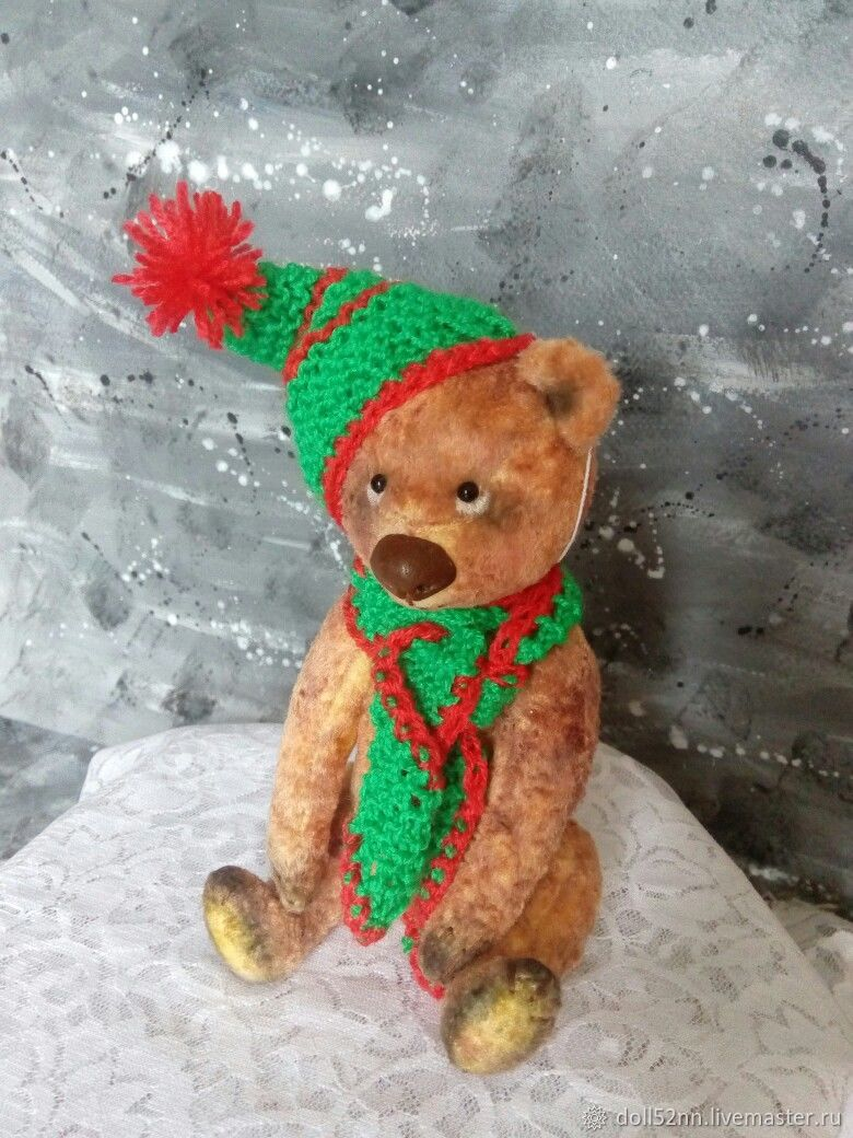 Мишка из плюша, Мягкие игрушки, Нижний Новгород,  Фото №1