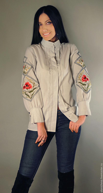 Блузка вышиванка купить в самаре