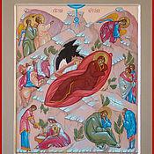 """Иконы ручной работы. Ярмарка Мастеров - ручная работа Икона  """"Рождество Христово"""". Handmade."""